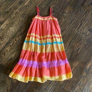 Darling Gap Striped Dress Girls Size 8 (M)